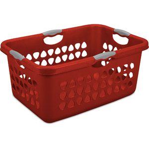 Sterilite 2 Bushel Ultra Laundry Basket Classic Red Laundry Basket Sterilite Laundry