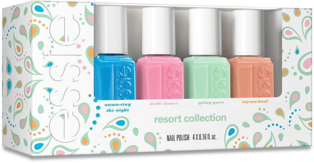 Resort 4 Pc Mini Nail Polish Set | Nail polish sets