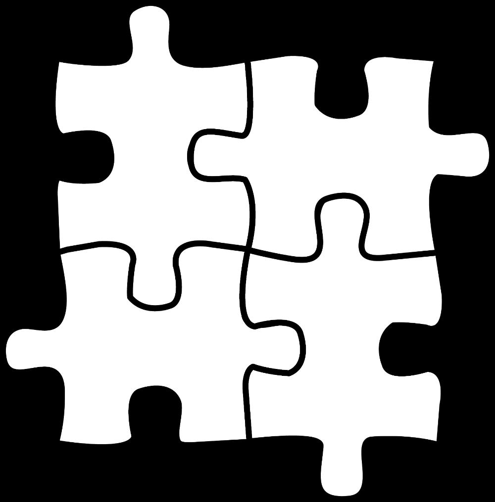 Four Puzzle Pieces For Coloring Free Clip Art Clip Art Library Autism Puzzle Piece Puzzle Piece Crafts Puzzle Piece Art