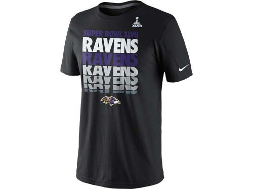 Baltimore Ravens Nike NFL Super Bowl XLVII Blockbuster T-Shirt ... 4a883dcf6
