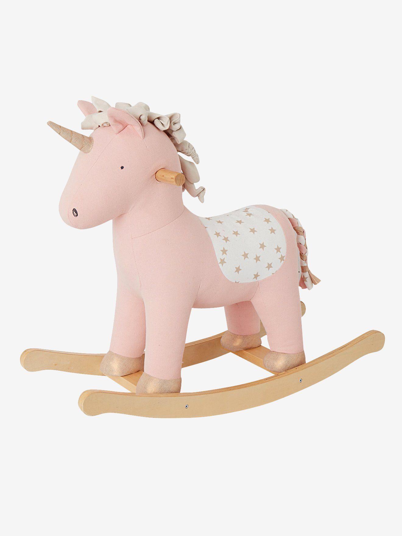 Licorne à bascule - rose Une licorne ça n'
