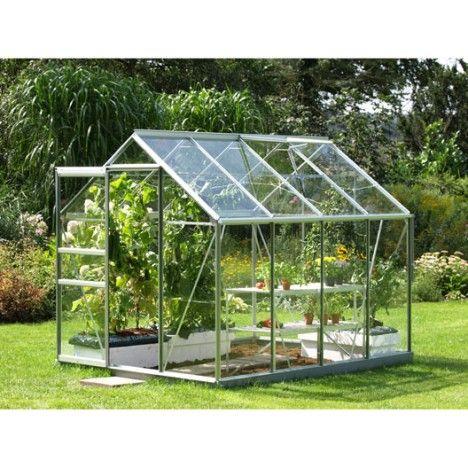 Serre Venus 5000 en verre horticole 4.96 m² 399 € | Växth ...