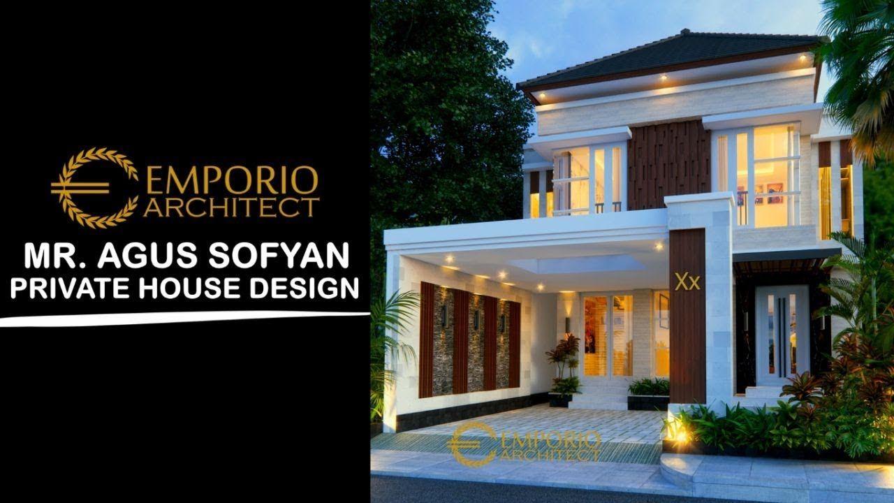 Jasa Arsitek Desain Rumah Bapak Agus Sofyan Surabaya