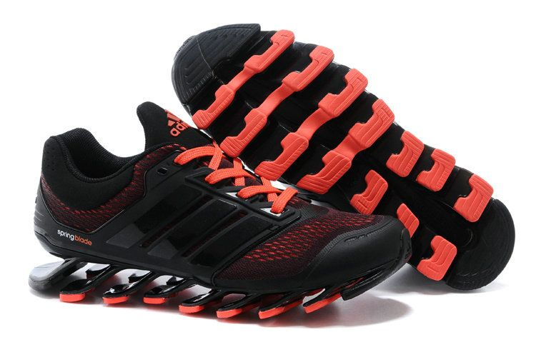 separation shoes 9076f 9b2eb Adidas Springblade Drive Shoes Black Orange