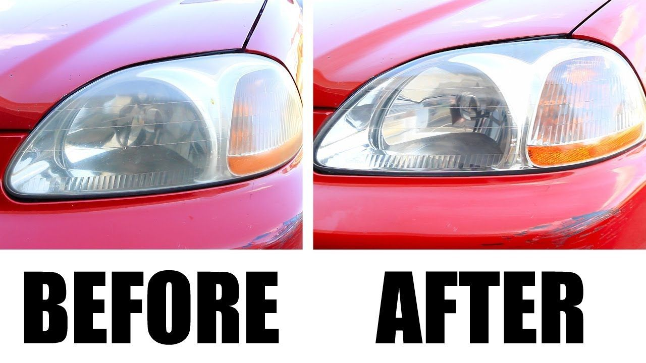 How To Clean Headlights Car Detailing How To Clean Headlights In Todays Car Detailing Episode On Stauffer Garage B How To Clean Headlights Car Detailing Car