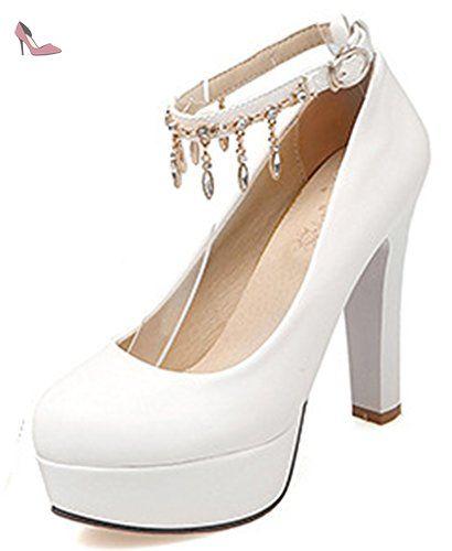 Chaussures à talon aiguille à bout pointu Aisun rouges Chic femme onTr0 fd65535a04c4