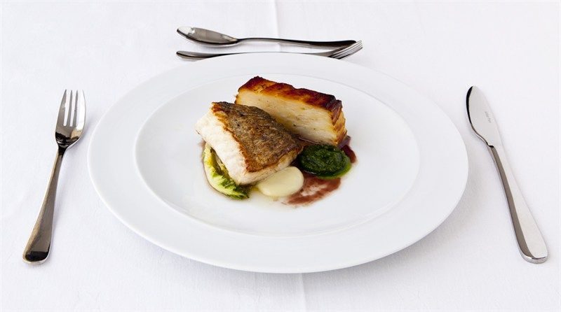 grilled haddock amp pommes anna wedding catering and food