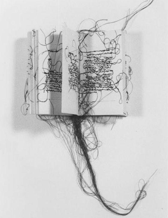 """Maria Lai """"Libro scalpo"""""""