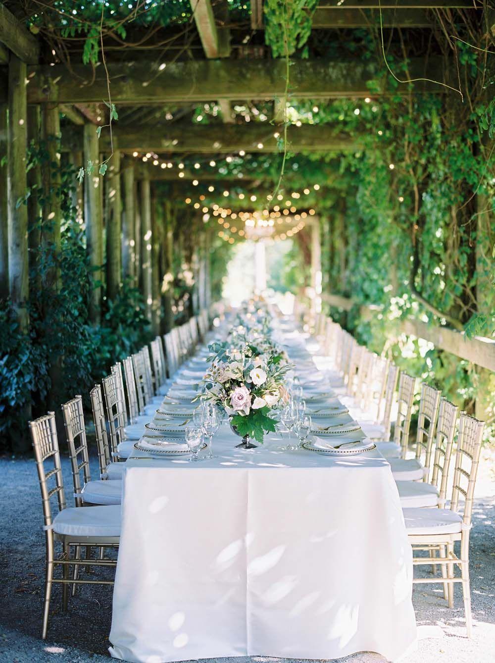 An Elegant Botanical Garden Wedding In Vancouver Canadian