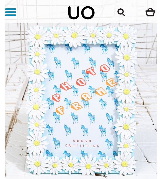 Daisies, urban outfitters x