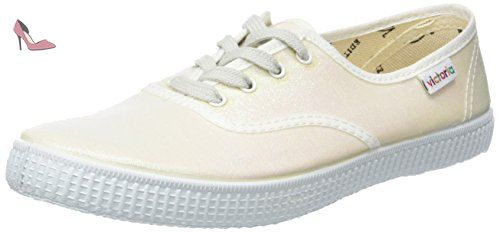06651, Sneakers Basses mixte adulte, Gris, 38 EUVictoria