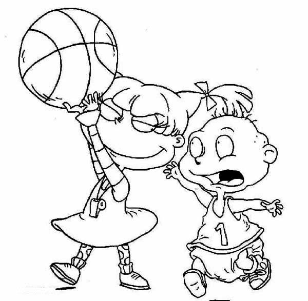 Angelica Free Printable Rugrats All Grown Up Coloring Pages Coloring Pages Cute Coloring Pages Rugrats