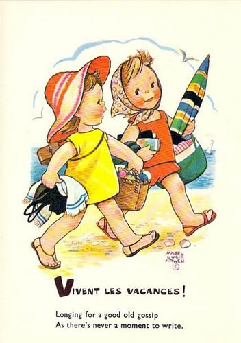 vacation.quenalbertini: Mabel Lucie Attwell card