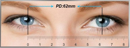 Measure Your Pd Pupillary Distance Eyebuydirect How To Measure Yourself Measurements Mm Ruler