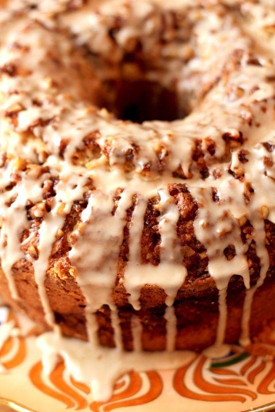 Sour Cream Coffee Cake. A necessary indulgence