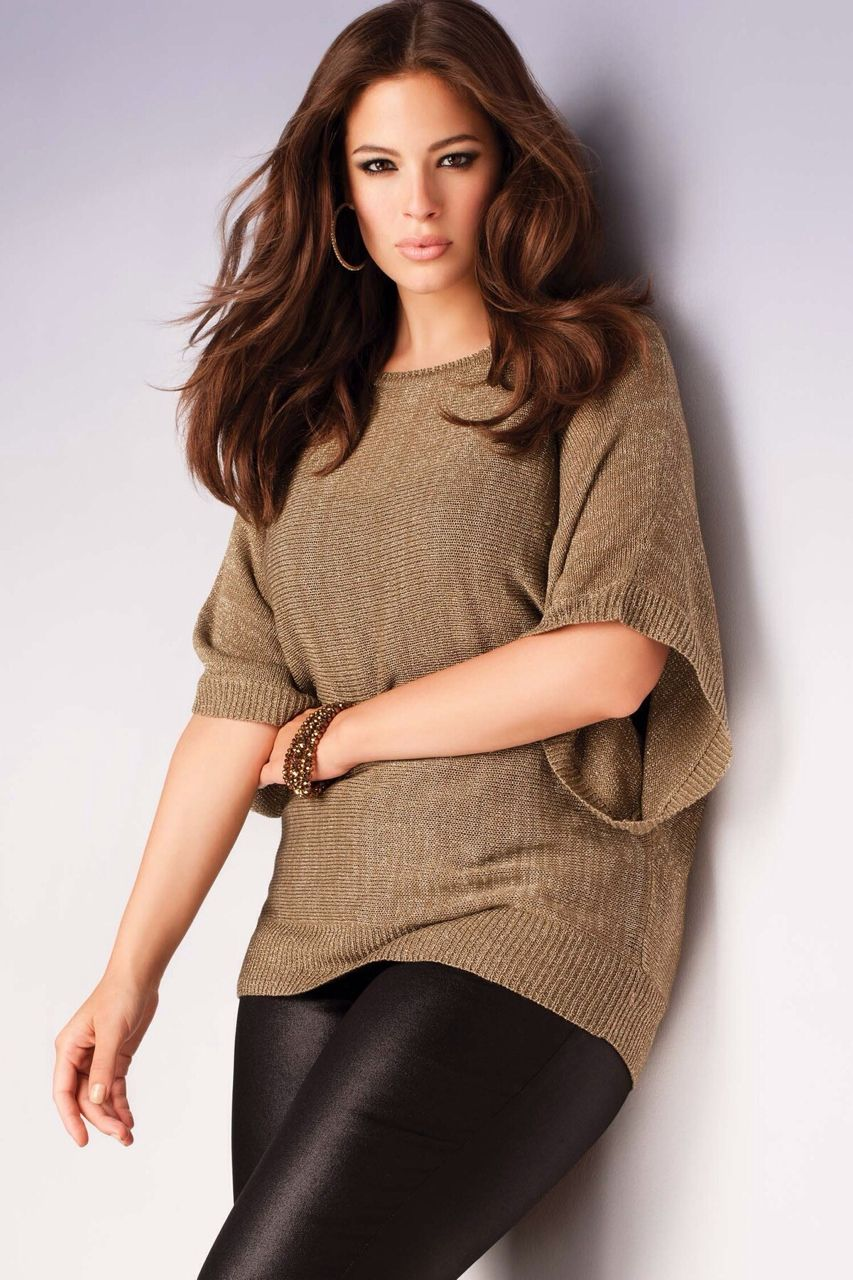 Size graham ashley plu model lingerie