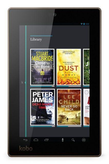 Sharing Kobo Arc 7 Black 8GB Tablet from WHSMITH