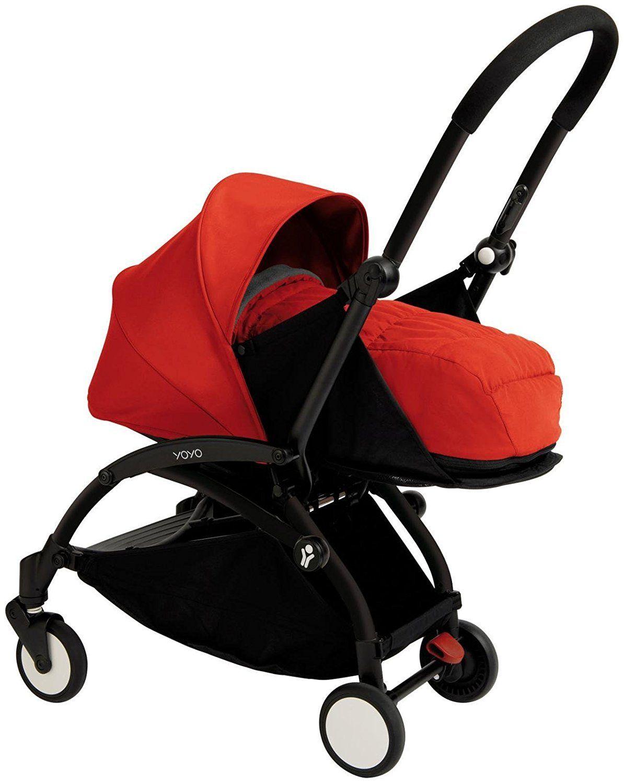 Babyzen YOYO+ Newborn Stroller - Black/Red   Products   Pinterest