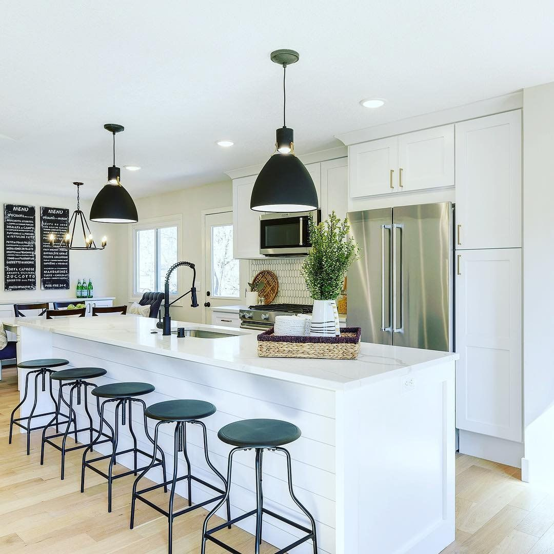 Brynne Led Pendant Kitchen Bar Lights Kitchen Layout Kitchen