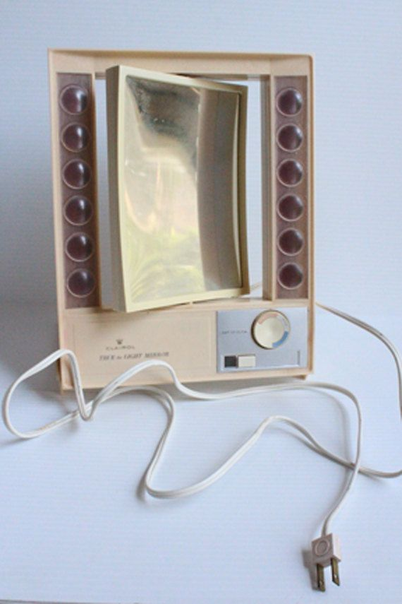 Clairol Makeup Mirror True To Light Makeup Mirror Vintage