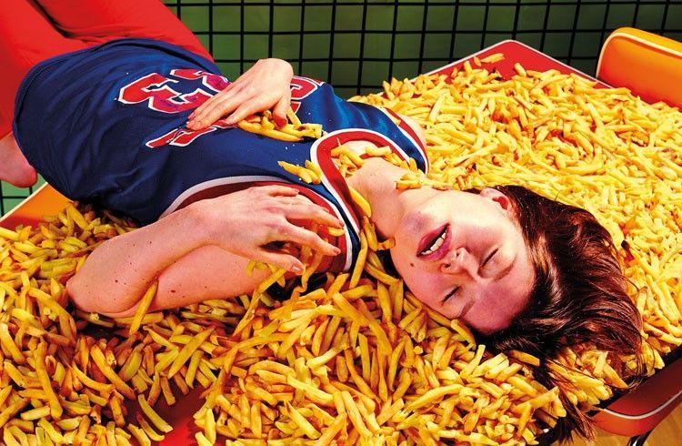 Fries Trendysnacks Toiletpaper Fashion Food Art Photography