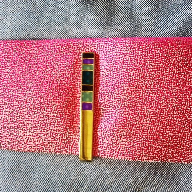 Paul Smith Tie Bar With A Richard James Tie. #eastdanestyle By East Dane
