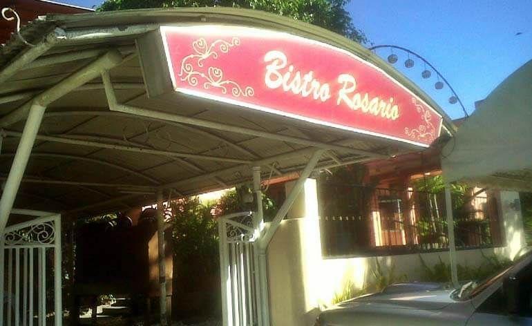 Bistro Rosario Davao City Davao City Dining Experiences Rosario