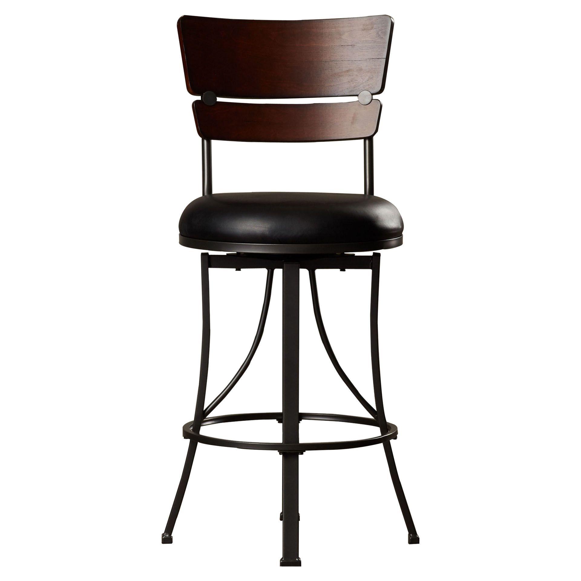 """Trent Austin Design Valley 26"""" Swivel Bar Stool"""
