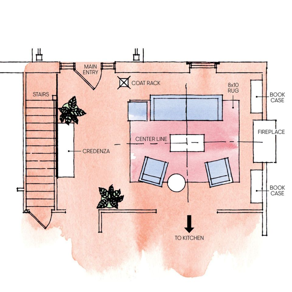 3 Living Room Layout Templates To Help You Get The Most Out Of Your Space Livingroom Layout Room Layout Living Room Setup