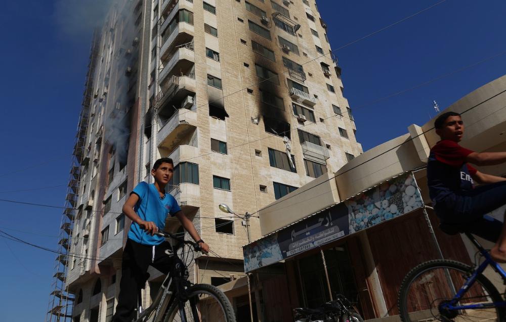 4 شهداء وإصابات في قصف اسرائيلي مستمر على قطاع غزة Leaning Tower Of Pisa Tower Landmarks