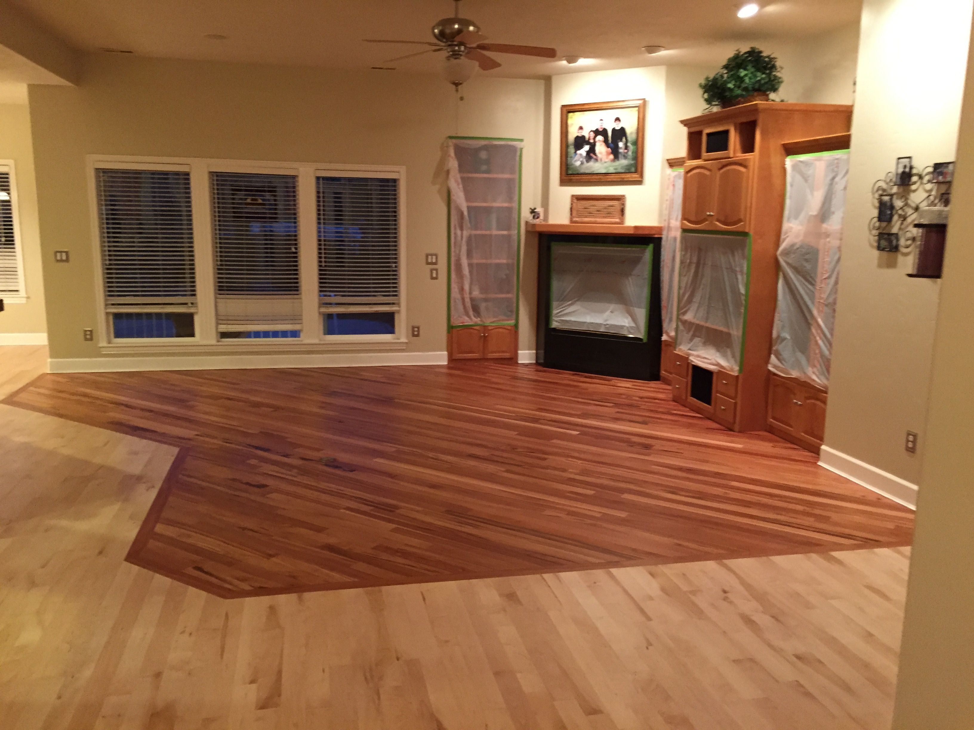 How to Mix Hardwood Floors Different Colors Different