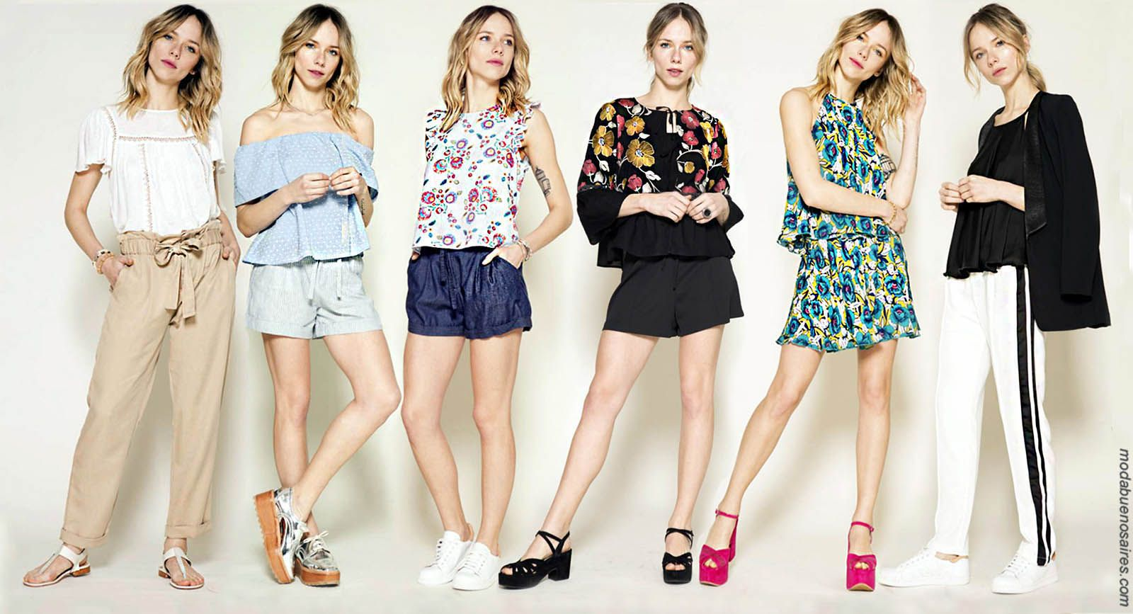 0b851773ea80 Moda primavera verano 2018 | Moda verano 2018 | Moda 2018 ropa para mujer  casual urbana, vestidos, monos, blusas y pantalones primavera verano 2018.