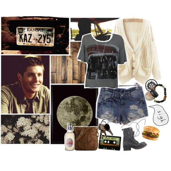 U0026quot;Fictional Date Dean Winchesteru0026quot; By Paraders On Polyvore | My Style! | Pinterest | Dean ...