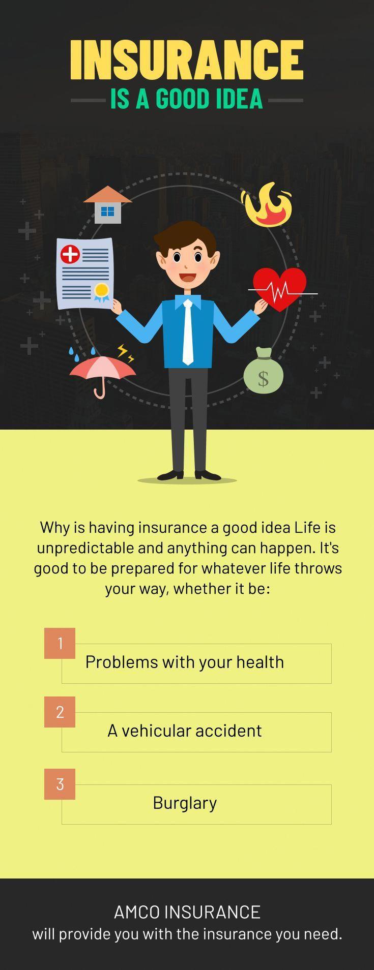 Insurance is a good idea