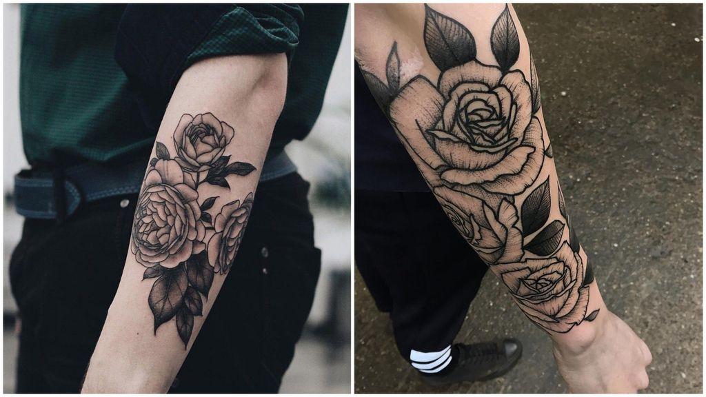 Tatuajes Para Hombres 109 Disenos De Tattoos Significado Mas Sexies Tatuajes De Rosas Para Hombres Tatuajes Para Hombres Tatuajes
