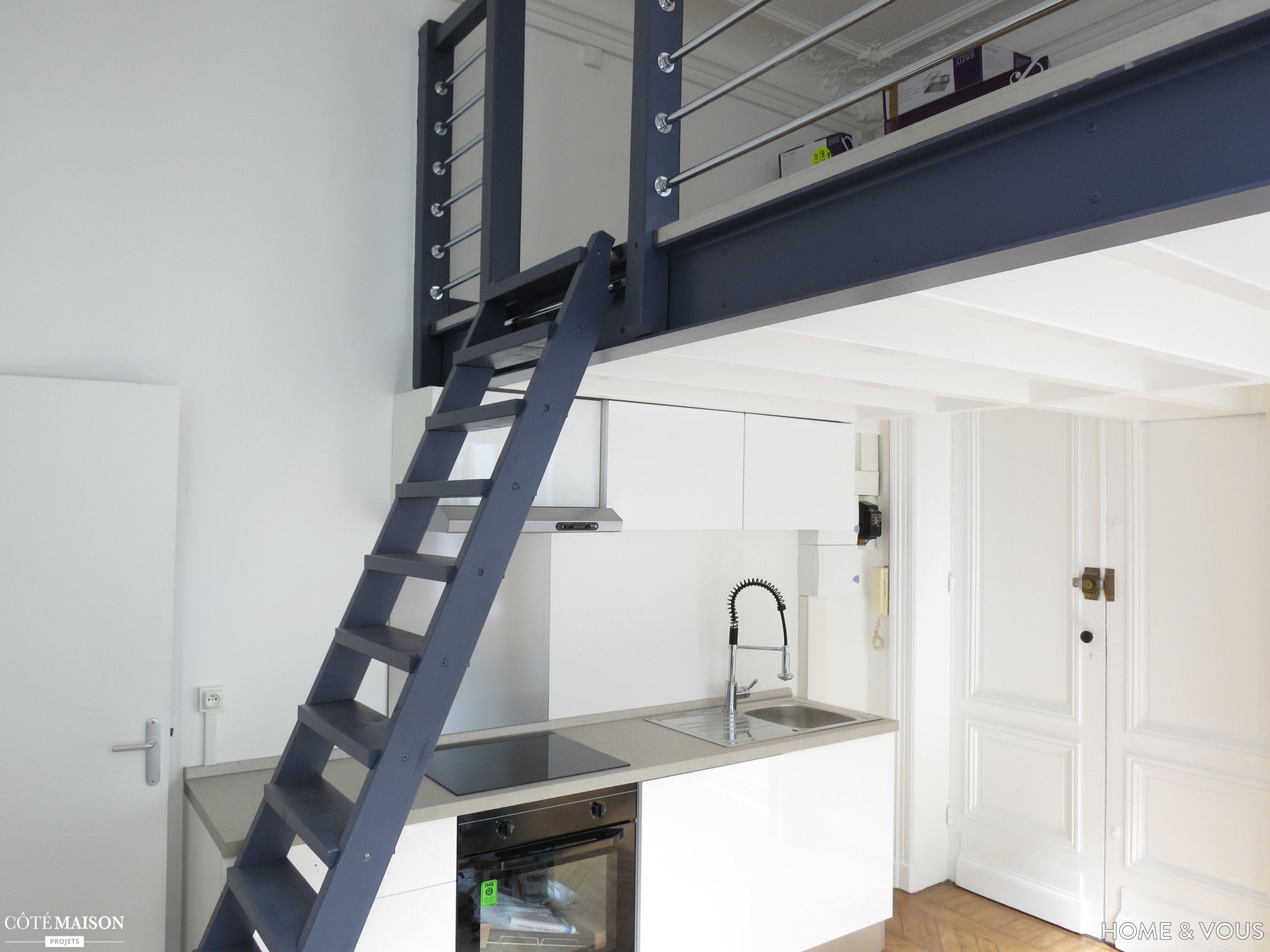 Rénovation totale d'un studio de 15m2, au cœur de Bordeaux