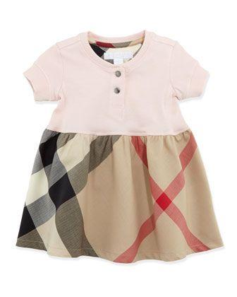21ceced0e40 Infant Girls   Henley Dress