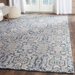 Safavieh Handmade Cambridge Moroccan Navy Wool Area Rug 5 X 8