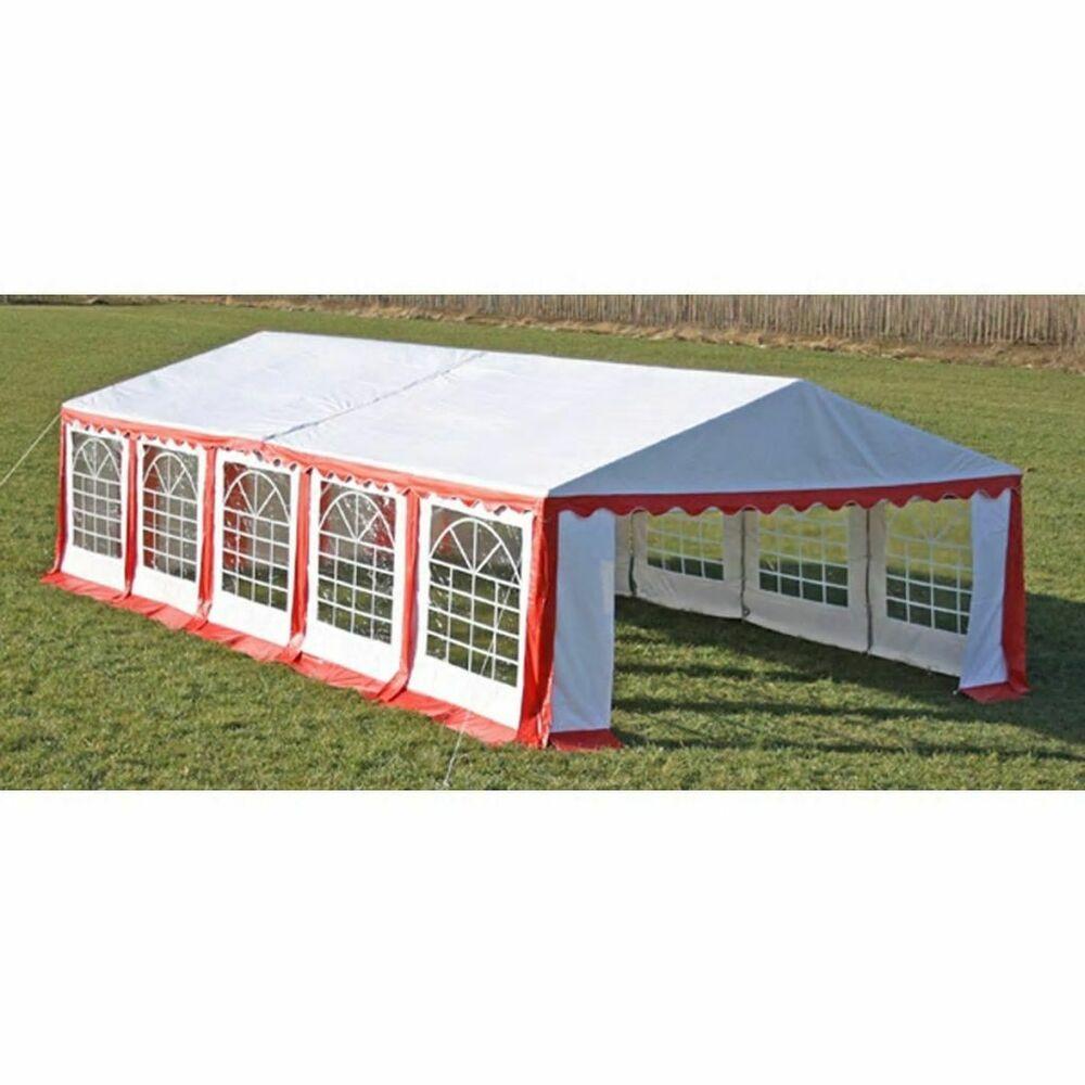 Vidaxl Toile De Rechange Pour Tente De Reception Rouge Blanc Bache Pour Tente Avec Images Meuble Jardin Pavillon De Jardin Pavillon