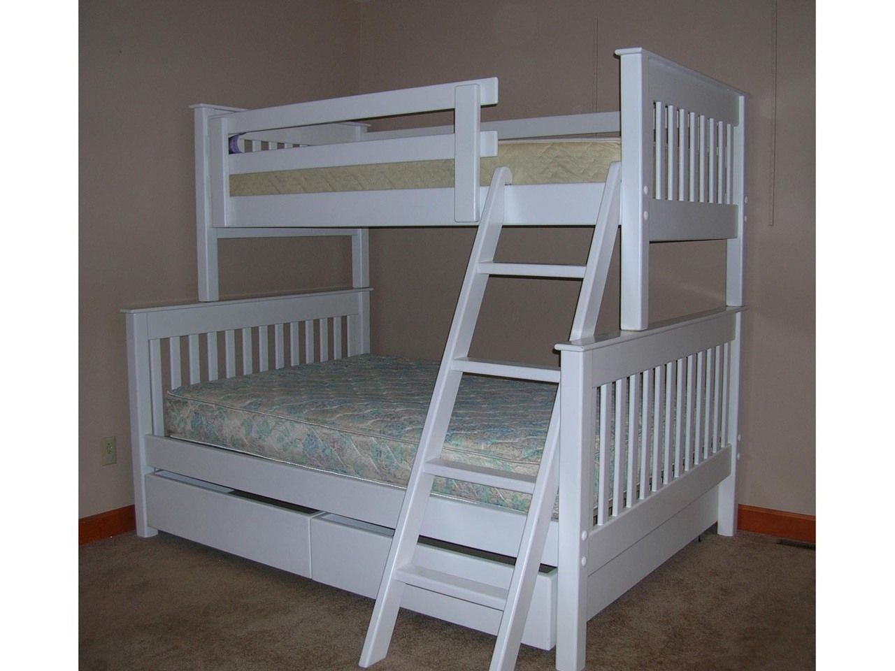 Twin/Full Bunk Bed B31 The Bunk & Loft Factory Cool