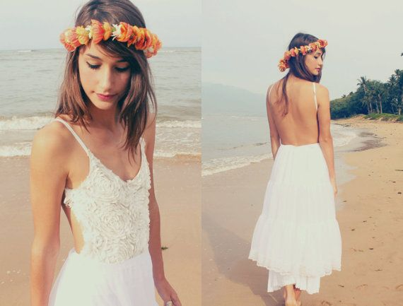 White Textured Bridal One Piece By Saltontherocks On Etsy