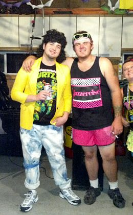 what to wear for 80s party guys