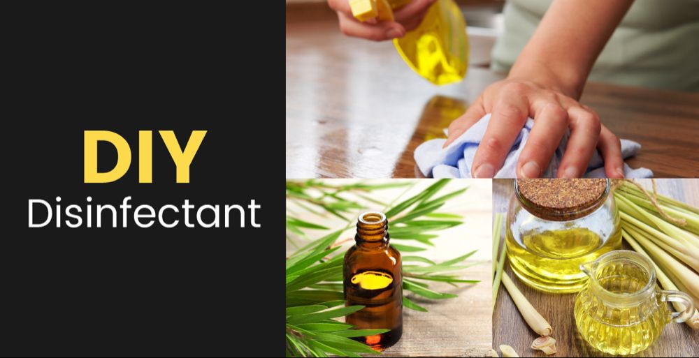 Diy Disinfectant Spray With Tea Tree Lemongrass Recipe