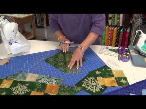 Twist 10 Table Runner Tutorial with Jenny Doan of Missouri Star Quilt Co. - YouTube