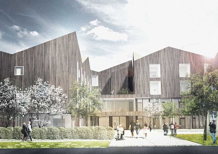 New frogner nursing home    ller also arch hospital design rh pinterest
