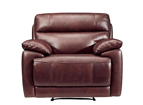 Deacon Leather Power Recliner Recliners Raymour And Flanigan Furniture Leather Recliner Recliner Power Recliners