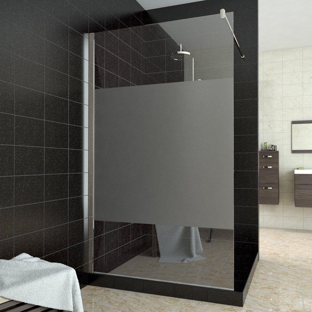 Walk In Dusche Duschabtrennung Duschwand Teilsatiniert 100