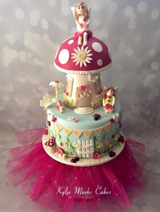 Fairy garden cake garden cakes Pinterest Fairy garden cake