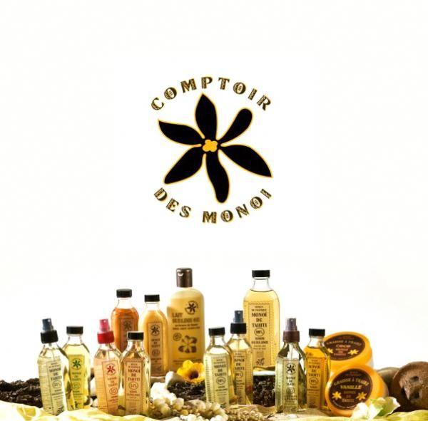 La Gamme Comptoir Des Monoi Est Formulee A Tahiti Par Le Laboratoire De Cosmetologie Du Pacifique Sud Et Conditionnee Monoi Monoi De Tahiti Soins Capillaires