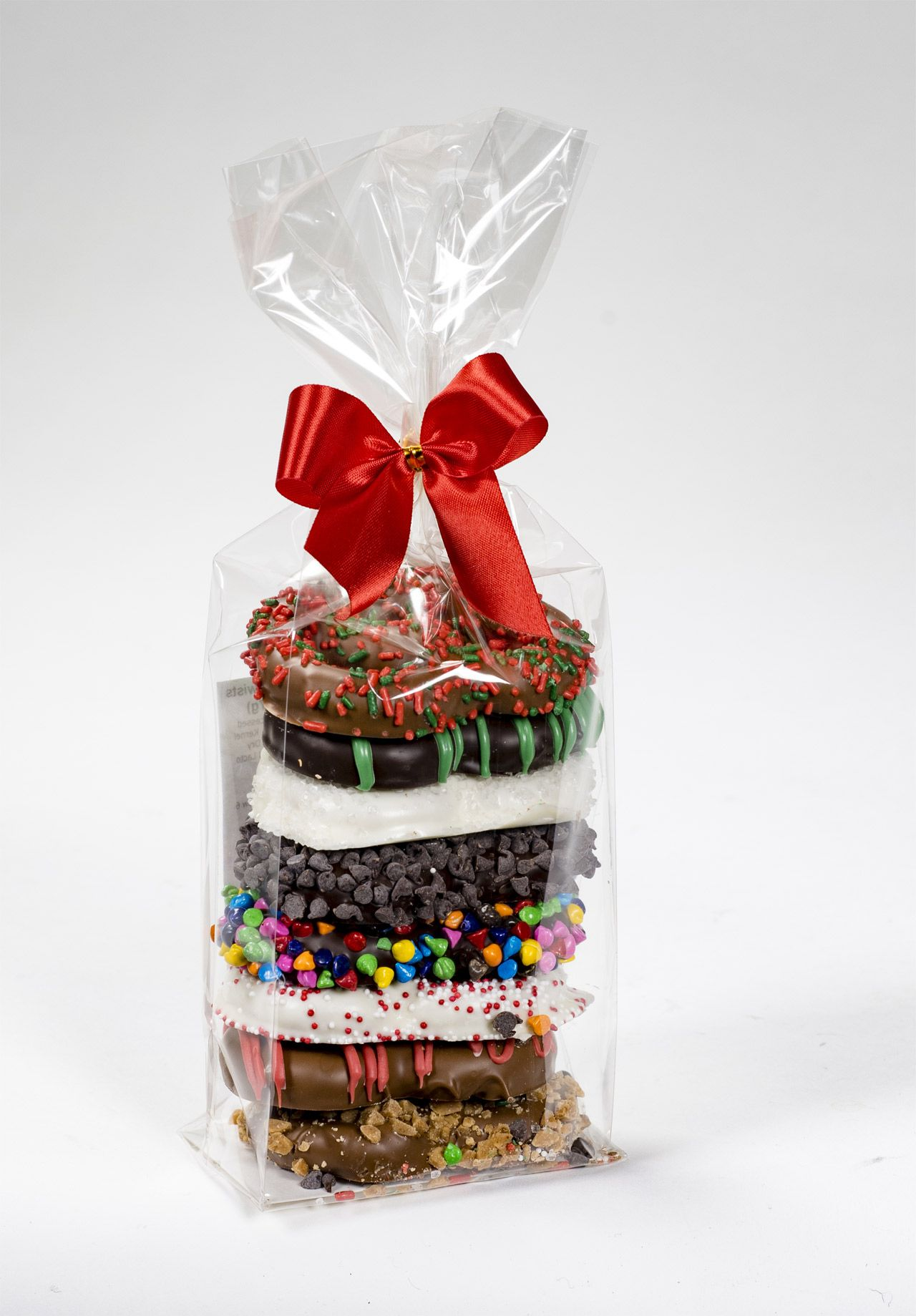 Decadent Gift Bag of 8 Milk, Dark and White Chocolate Covered ...